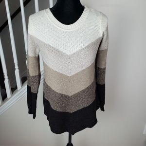 AGB Neutral Color Block  Sweater